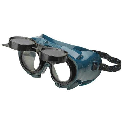 BBrand Flip Front Welding Safety Goggles Green Ref BBFFWG