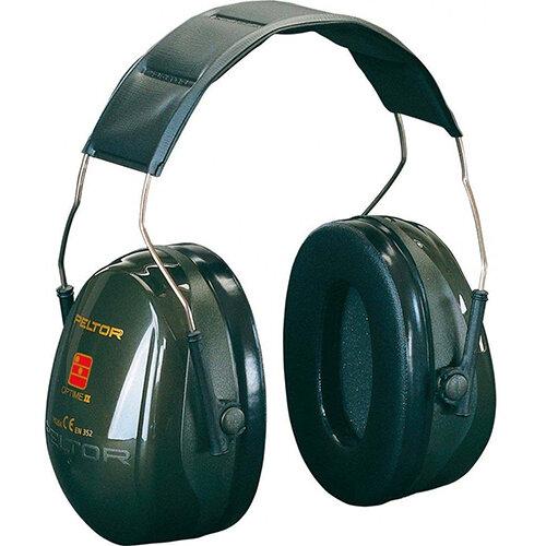 3M PELTOR Optime II H520A Headband Ear Defender Headset SNR31 Black Ref H520A