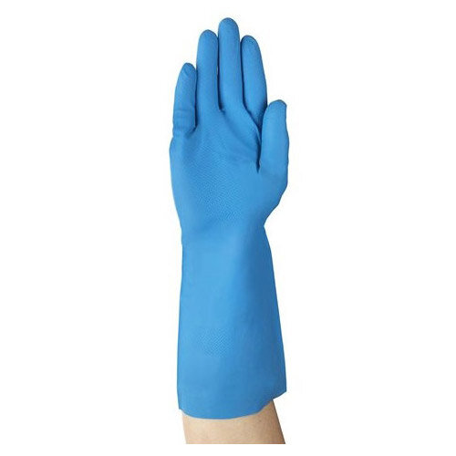 Ansell VersaTouch Size 10 Chemical Resistant Work Gloves Blue