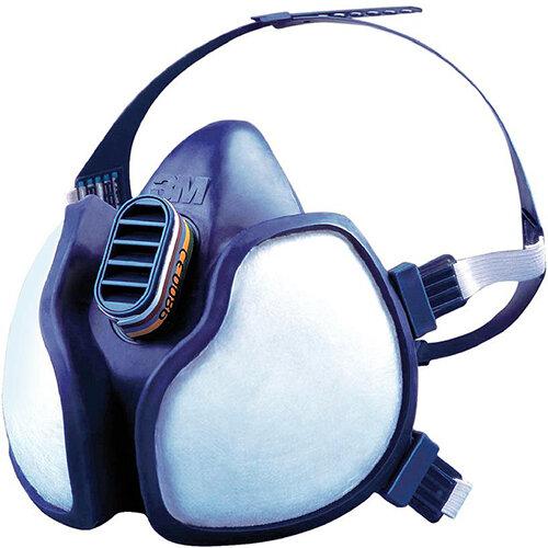 3M FFABE1P3D Half Mask Respirator Blue Single Ref 4277