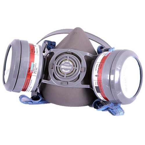 BBrand A1P2 Pre-assembled Ready Mask Filter Grey Ref BB3020