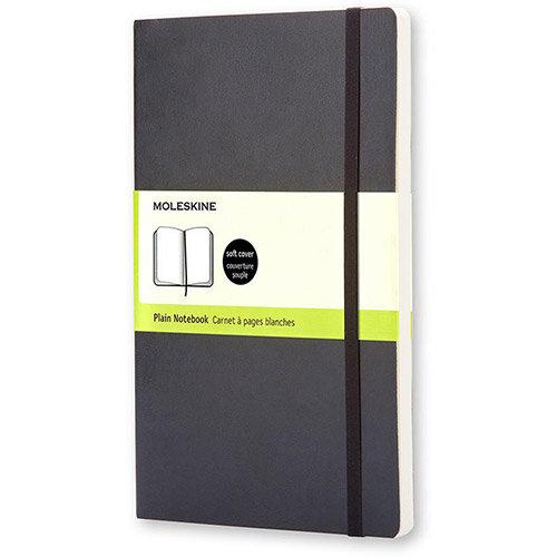 Moleskine XL Notebook Casebound Hardback Ruled 70gsm 192pp 190 x 250mm Black