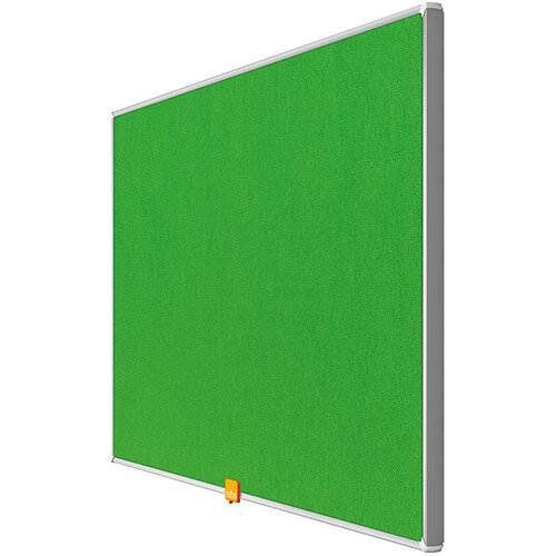 Nobo 32 inch Widescreen Felt Board 710x400mm Green Ref 1905314