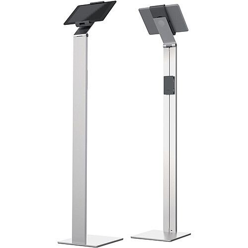 Durable Tablet Floor Stand Silver