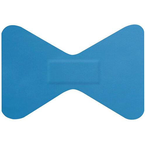 Click Medical Hygioplast Detectable Fingertip Plasters Blue Pack of 50 Ref CM0501