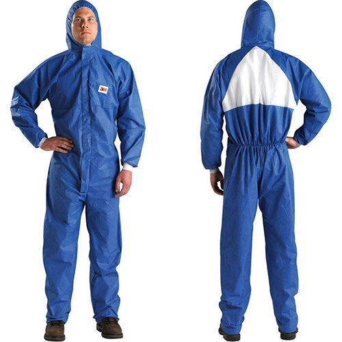 3M 4530 Large Protective Coverall Blue/White