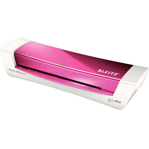 Leitz iLAM A4 Slim High Speed Office Laminator Pink Ref 73681023