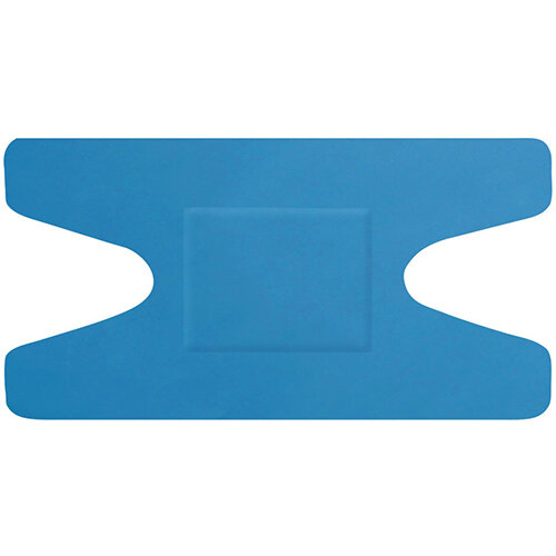 Click Medical Hygioplast Detectable Knuckle Plasters Blue Pack of 50 Ref CM0502
