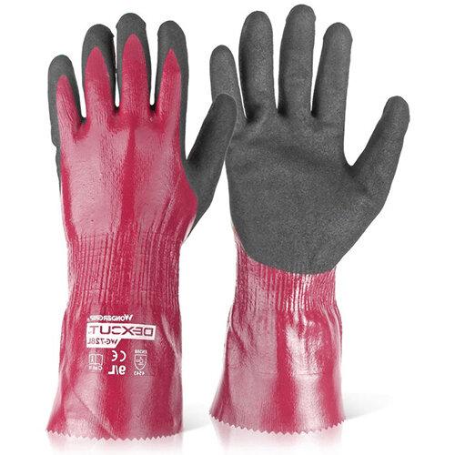 Wonder Grip WG-728L Dexcut Fully Coated Glove 2XL Grey Ref WG728LXXL