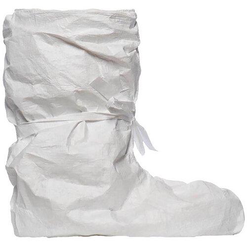 Tyvek POBA Overboots Slip Retardant White 100 Pairs Ref TOBSR