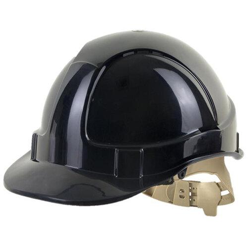 BBrand Comfort Vented Safety Helmet Black Ref BBVSHBL