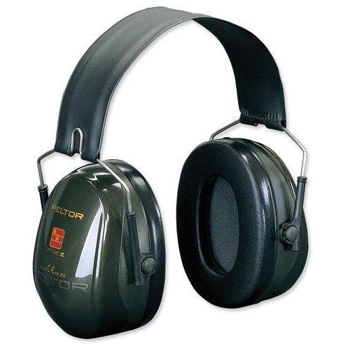 3M PELTOR Optime II H520F Foldable Ear Defender Headset Black Ref H520F-409-GQ