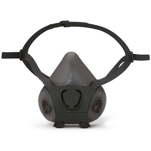 Moldex Silicone Half Mask Lightweight Large Black Ref M7006