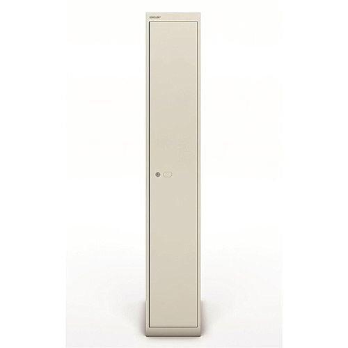 Bisley Steel Locker 457mm Deep 1 Door Goose Grey