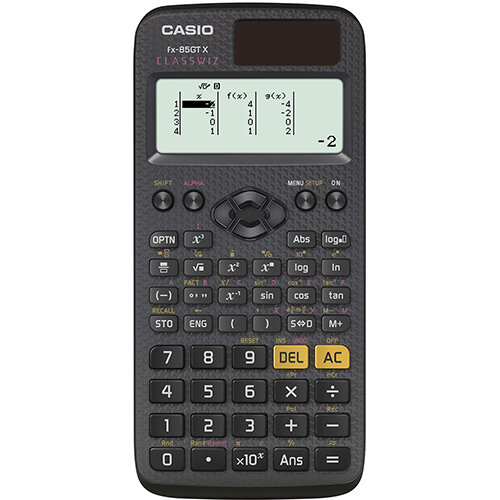 Casio FX-85GTX Scientific Calculator Exam Ready Black Ref FX-85GTX