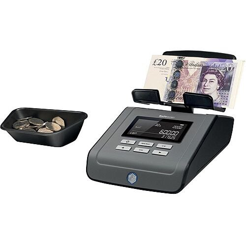 Safescan 6165 Money Counting Scale Machine for Multi Currency