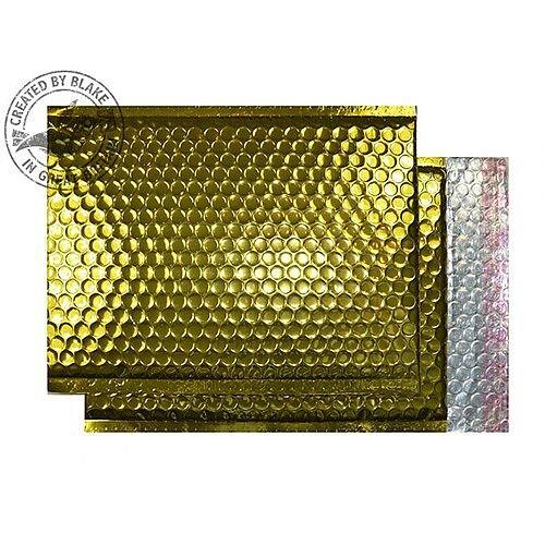 Purely Packaging Bubble Envelope P&S C4+ Metallic Gold Ref MBGOL324 [Pk 100]