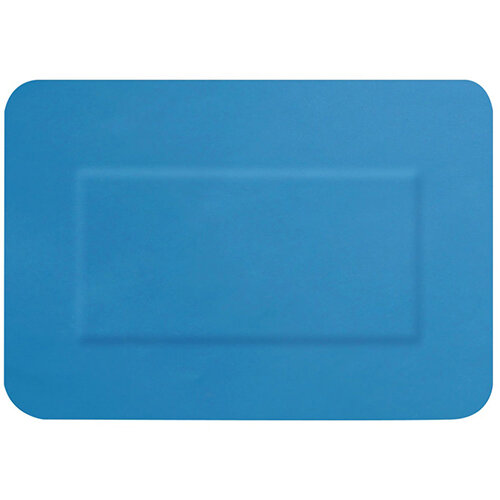 Click Medical Hygioplast Detectable Large Patch Plasters Blue Pack of 50 Ref CM0503