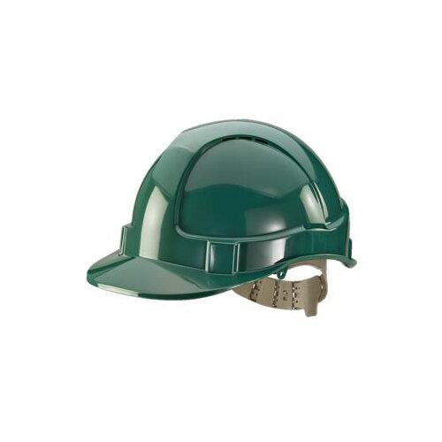 BBrand Comfort Vented Safety Helmet Green Ref BBVSHG