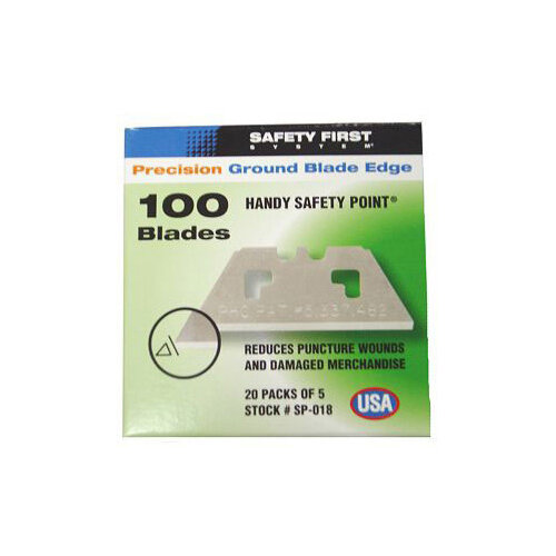 Pacific Handy Cutter Safety Point Blades Silver Ref SP-018 Pack of 100