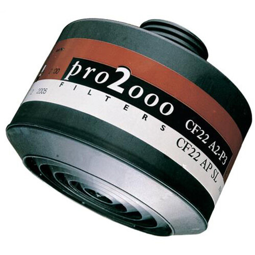 Scott Safety Pro 2000 CF22 A2-P3 Combination Filter 40mm Thread Grey Ref 5042670