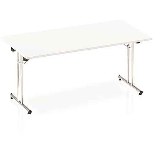 Rectangular Folding Table White W1600xD800mm