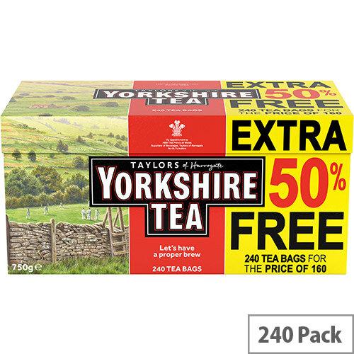 Yorkshire Tea Bags Ref 0403387 (Pack 240)