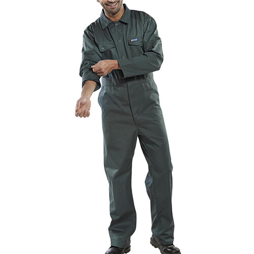 Click Workwear Boilersuit Work Overall Size 54 Spruce Green Ref PCBSS54