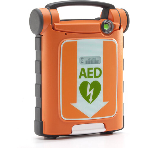 Cardiac Science G5 AED Defibrillator Kit Auto CPR with Carry Sleeve Ref CM1201