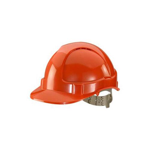 BBrand Comfort Vented Safety Helmet Orange Ref BBVSHO