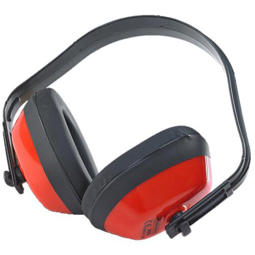 BBrand Economy Ear Defenders Red Ref BBED