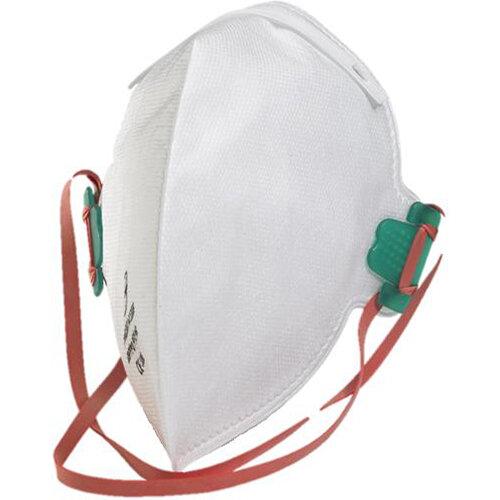 B-Brand P2 Fold-flat Mask Latex-free White Pack of 20 Ref BBFFP2