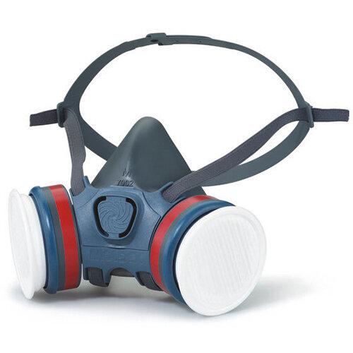 Moldex A2P3 Half Mask Half Mask Lightweight Medium Grey Ref M7232