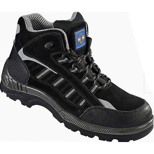 Rock Fall ProMan Boot Size 3 Suede Fibreglass Toecap Black
