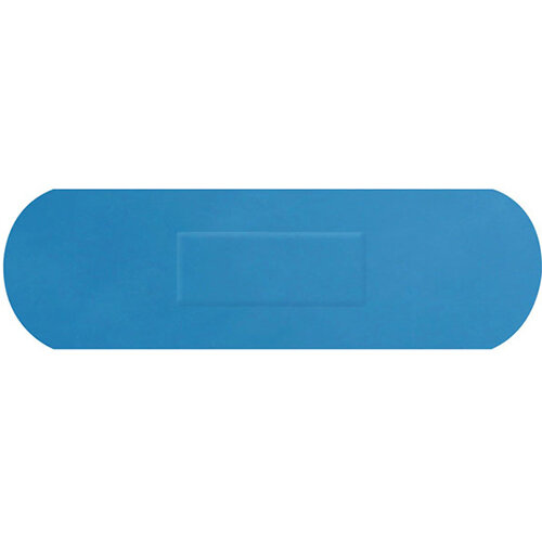 Click Medical Detectable Senior Strip Plasters Pack of 100 Blue Ref CM0506