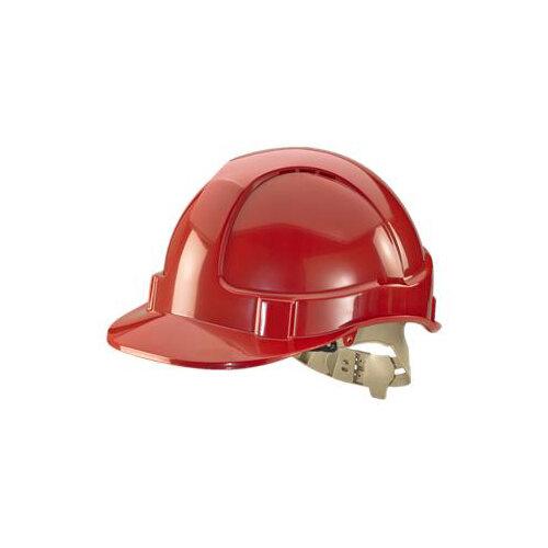 BBrand Comfort Vented Safety Helmet Red Ref BBVSHR