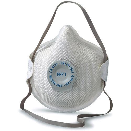 Moldex FFP1V Half Mask with ActivForm Seal and DuraMesh Shell Ref M2365 Pack of 20