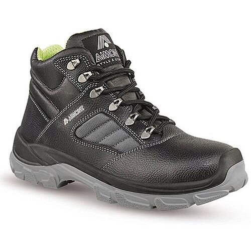 Aimont Rhino Safety Boots Protective Toecap Size 7 Black