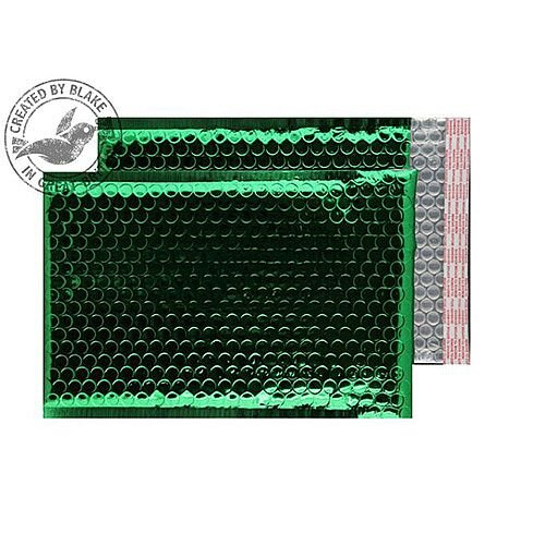 Purely Packaging Bubble Envelope P& C5+ Metallic Green Ref MBGRE250 [Pk100]