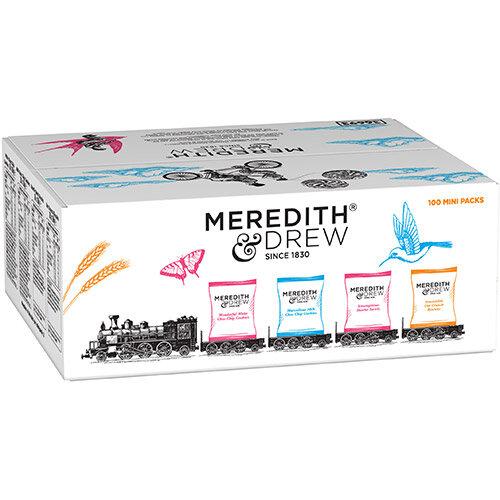 Meredith &Drew Minipack Biscuits 4 Varieties Twinpack Ref 0401183 Pack of 100