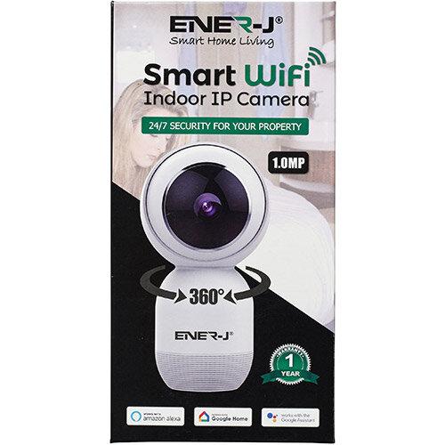 Ener-J WiFi Indoor IP HD Security Camera With Two Way Audio Ref IPC1023