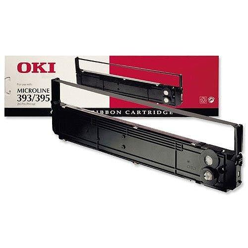 OKI 09002311 Printer Ribbon Cassette for 393 395