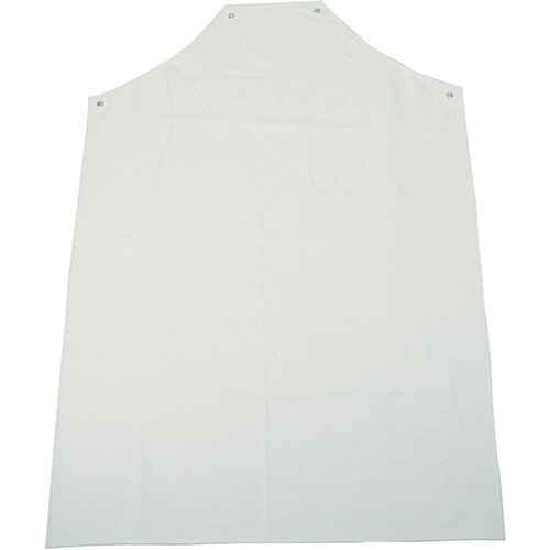 Click Workwear PVC Apron White 48x36inch Pack of 10 Ref PALWW48-10