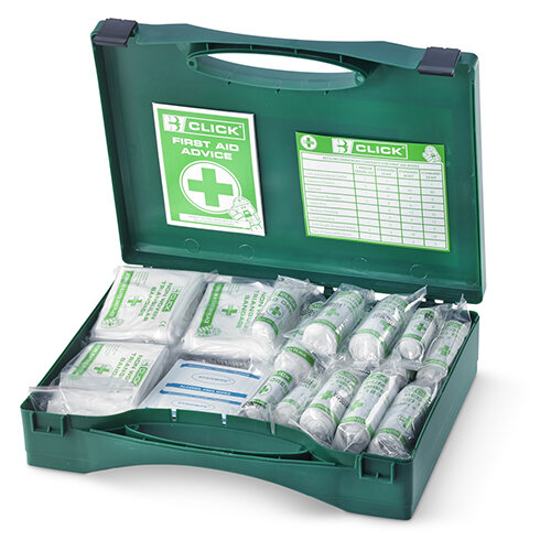 Click Medical 11 to 26 Person HSA Irish First Aid Kit Ref CM0023