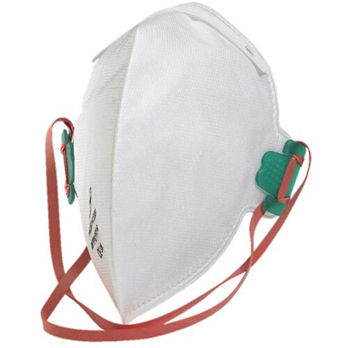 B-Brand P2 Fold-flat Valve Latex-free Mask White Pack of 20 Ref BBFFP2V