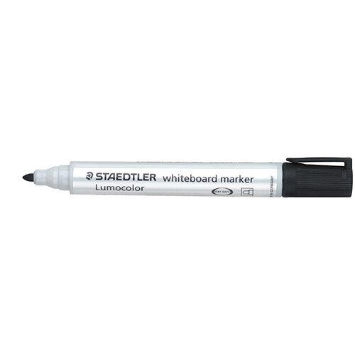 Staedtler Lumocolor 351 2mm Bullet Tip Whiteboard Marker Black 1 x Pack of 10 Ref 351-9