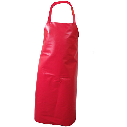 Click Workwear Nyplax Apron 48x36in Red Pack of 10 Ref PNARE48-10