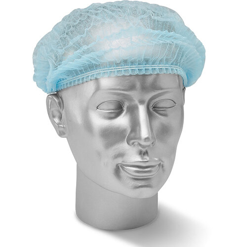 Click Once Disposable Hairnet Blue Ref DMCB