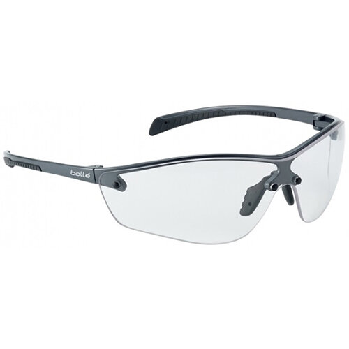 Bolle Silium+ SILPPSI Safety Glasses Clear with Platinum Coating Ref BOSILPPSIPLUS