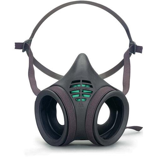 Moldex Mask Body Twin Filter Low Profile Medium Grey Ref M8002
